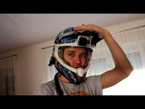 GoPro Under Helmet Visor Mount - Graham Jarvis Style