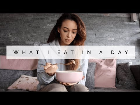 WHAT I EAT IN A DAY | EMPTY FRIDGE EDITION | Danielle Peazer