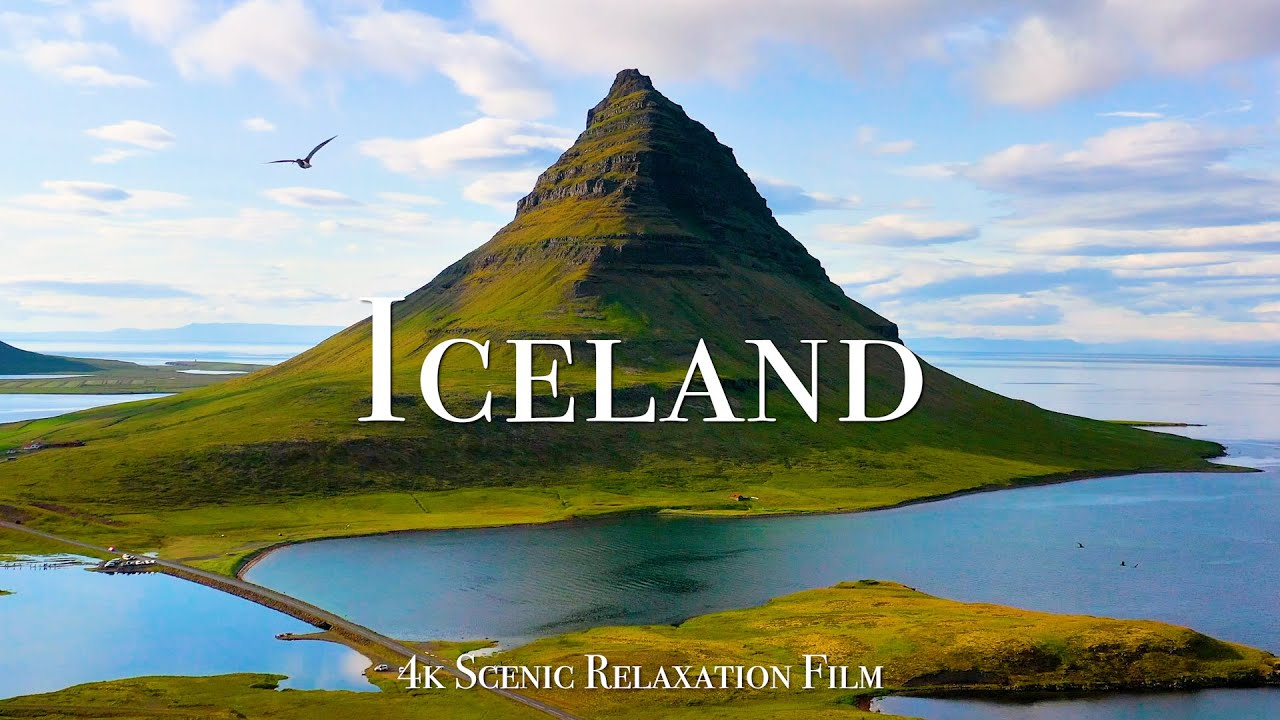 Iceland 4K - Scenic Relaxation Film with Calming Music