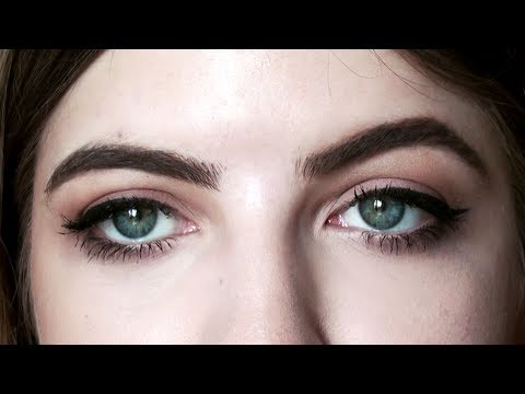 How to: ARCHED vs STRAIGHT BROWS
