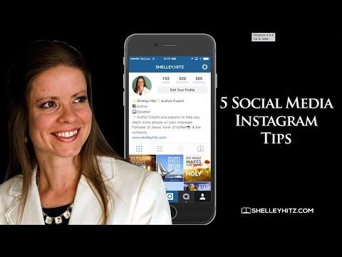 Social Media Instagram Tips  - 5 Tips for Getting Started on Instagram