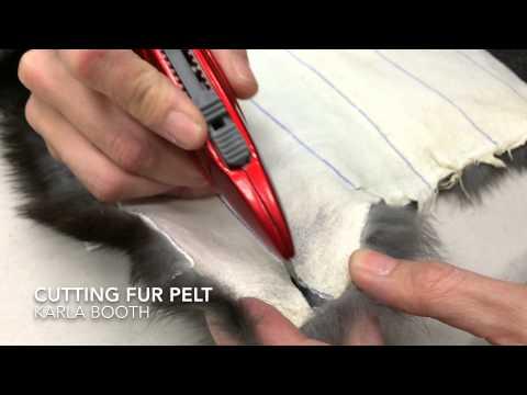How To Cut Fur Pelt