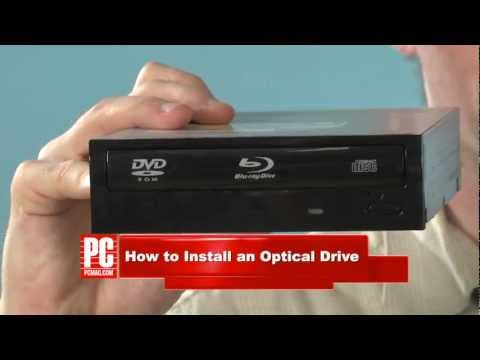 How to Install an Optical Drive