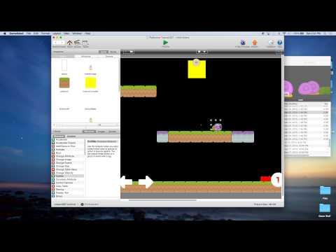 Platformer Tutorial for GameSalad Creator 007 - Enemies - Method 1