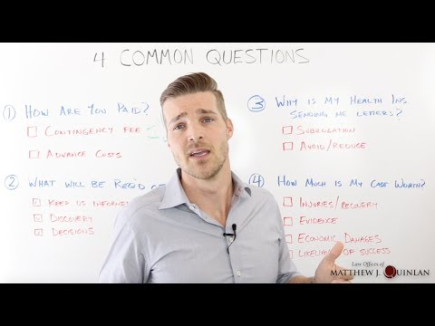 4 Common Questions From New Clients (June 14, 2017)