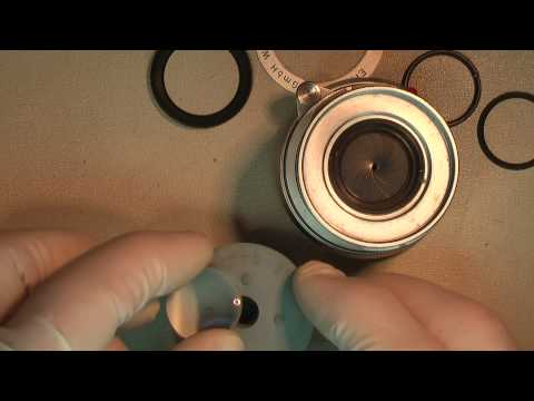 Cleaning fungus inside front lens in Leica-M Elmar f=5cm 1:2.8