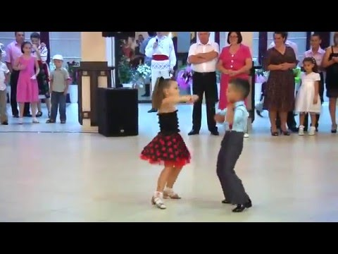 TALENTED KIDS BALLROOM DANCING