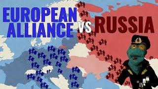 European Alliance vs Russia: Europe divided