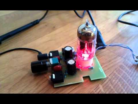 Cmoy 12AU7 tube headphone amp