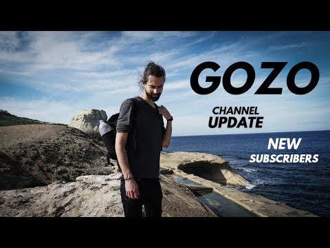 Walk & Talk on Gozo, Welcoming New Subscribers, My Story, Upcoming Videos & Channel Update