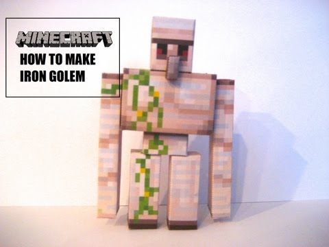 Minecraft : How To Make A Iron Golem