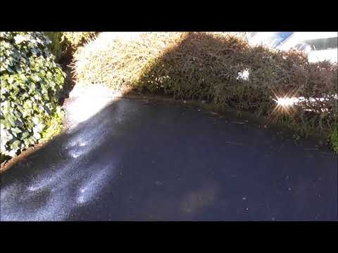 How to Clear Driveway Tarmac Moss With Soap Powder