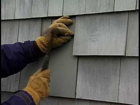 How to Repair Wooden Shingles