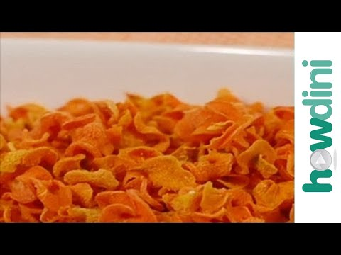 Easy Snack Recipe: Carrot Chips