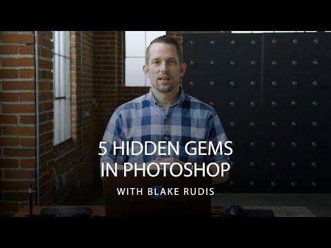 5 Hidden Gems In Adobe Photoshop | CreativeLive