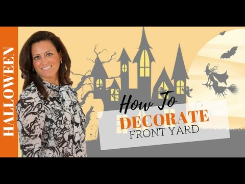 Halloween Decorating: 4 Must-Know Tips to Decorate the Front Yard