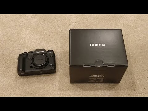 Fujifilm XF 23mm f/1.4 R Lens Unboxing