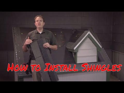 How to Install Asphalt Shingles by RoofingIntelligence.com