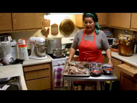 Mary's Making Pork Tamales for the Holidays! Part 1 of 5