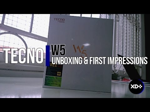 Tecno W5 Unboxing & First impressions