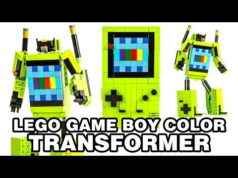 LEGO Game Boy Color Transformer