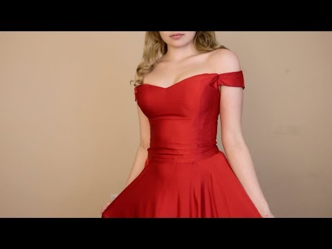 ASMR Prom Makeup and Dresses ♥