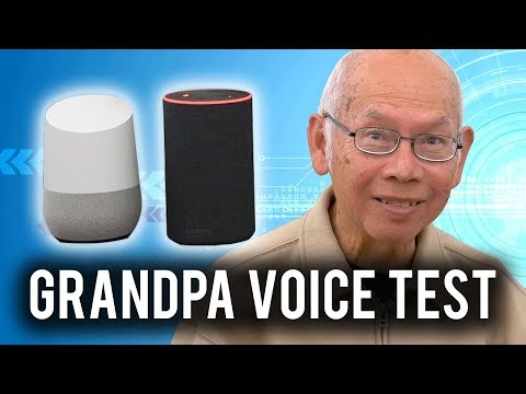 Trying to STUMP Google & Alexa with my Grandpa!