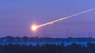 Падение метеоритов на землю! Ударная волна и последствия