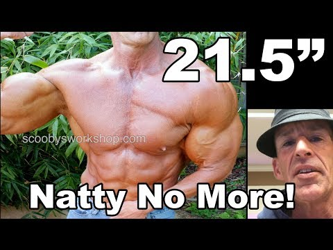 Scooby's first cycle - natty no more