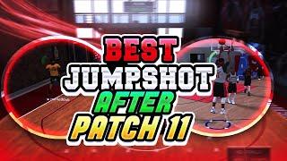 NBA 2K18 BEST CUSTOM JUMPSHOT AFTER PATCH 11 BEST JUMPSHOT