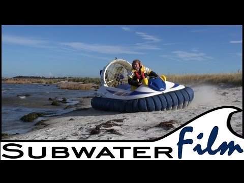 Flying a real HOVERCRAFT | Follow us on board the Hov Pod - Subwaterfilm