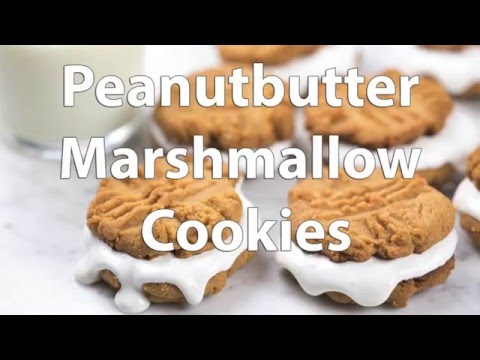 How to Make Peanut Butter Marshmallow Sandwich Cookies