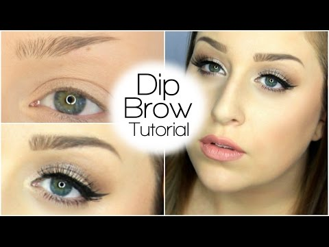 HOW TO: FILL IN YOUR BROWS USING DIPBROW POMADE   Anastasia Beverly Hills
