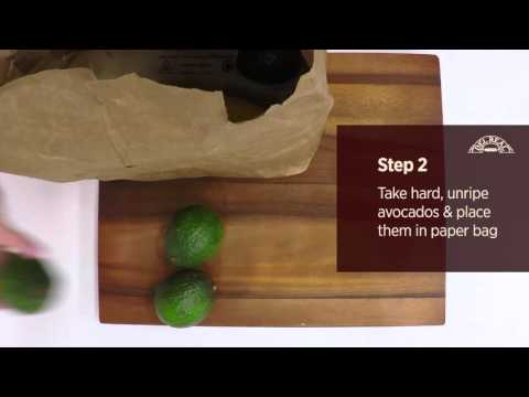 How to Ripen Avocados in 24 hours