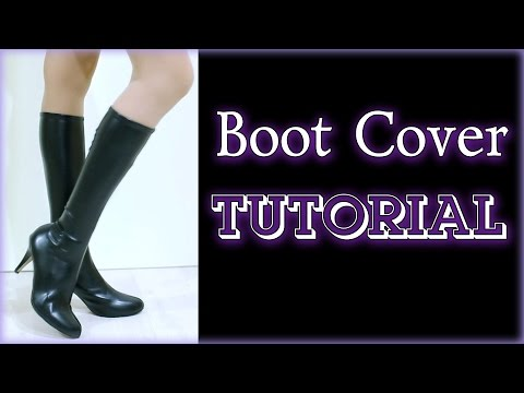 Cosplay Boots TUTORIAL [Eng sub]