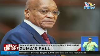 Zuma agrees to step down as South Africa