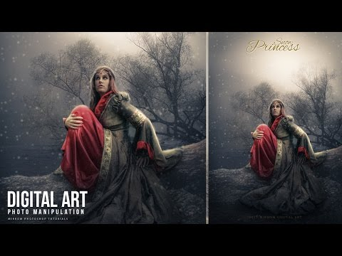 Make a Photo Manipulation With Snow Effect In Photoshop CC