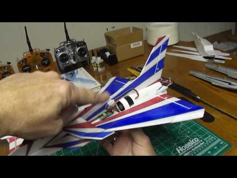 Part #2 of #2 Micro J-10 Cutting and assembling your PDF Plans. foamconceptjets.com