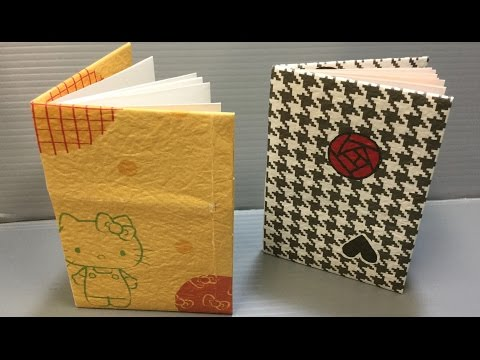 Origami Book with Pages Make Your Own