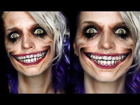 JOKER SMILE | Halloween Makeup Tutorial