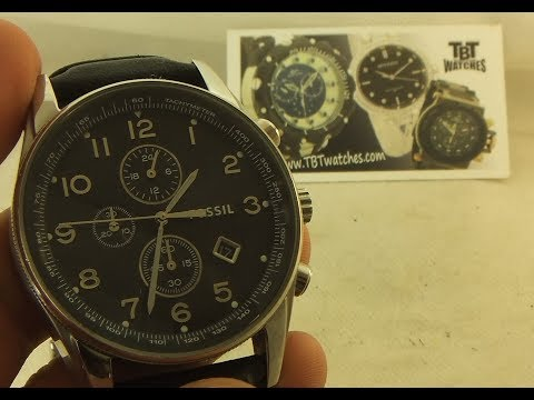 How to change a battery on Fossil watch model number FS4761 (40501407)