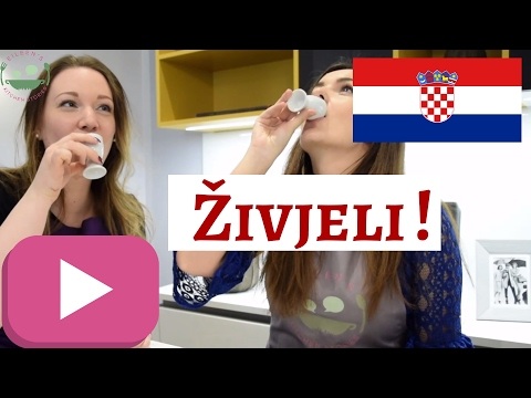 Trying RAKIJA AND DOMAĆICA | Croatian Schnaps and Biscuits