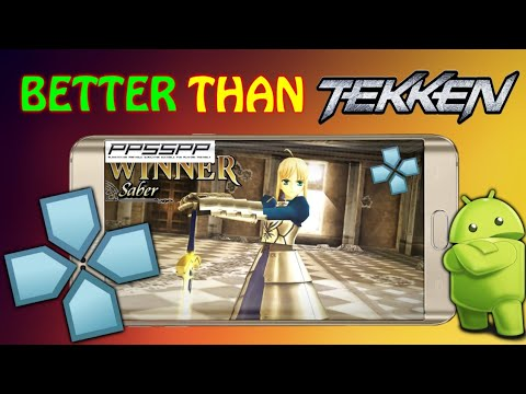 This Game Is FAR Better Than Tekken | Fate Unlimited Codes | PPSSPP Games