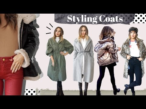Styling 6 Trendy Coats for Cold Weather