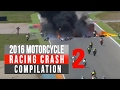 Download 2016 Motorcycle Racing Crash Compilation 2   Remake [Live Commentary No music] In Mp4 3Gp Full HD Video