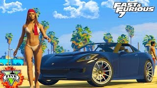 NEW FAST & FURIOUS GTA 5 Special! - Customizing FURIOUS Cars Racing & Winning - GTA 5 FAST & FURIOUS