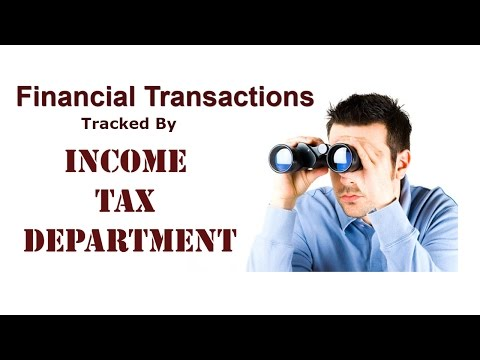 Avoid Income Tax Notice / Transactions tracked by tax department / Annual Information Return (AIR)