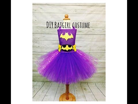 DIY Batgirl Tutu Dress Costume | Super Hero Series | Batgirl Tutu