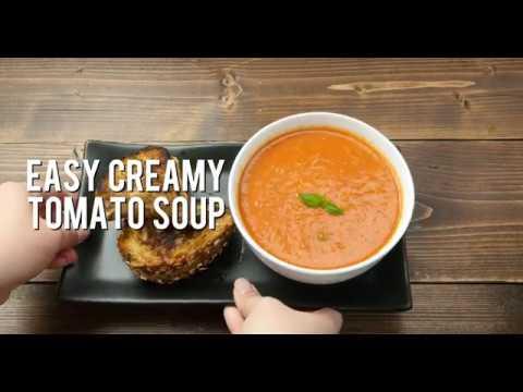 Creamy Tomato and Basil Soup