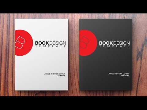 How to Create a Book Design Template in Photoshop